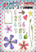 PaperArtsy JOFY Collection 22 - Numbers - JOFY22